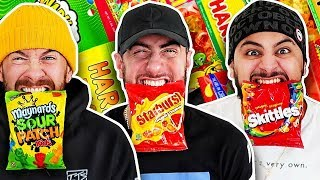 Taste Testing EVERY GUMMY and CANDY Ever Made! (ULTIMATE GUMMY TASTE TEST FOOD CHALLENGE)