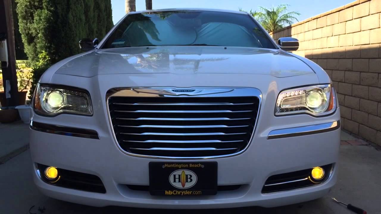 2014 Chrysler 300c 3000k Hid Fog Lights And Cree Led
