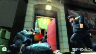 GTA 4 Slow motion gameplay