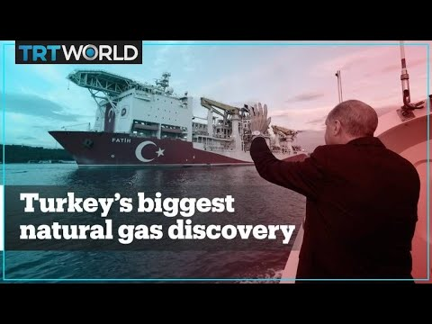 Turkey announces its biggest ever natural gas discovery