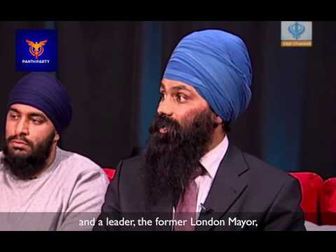 Boris Johnson disrespects Sikh in a Gurdwara! (Jagmeet Singh, UK)