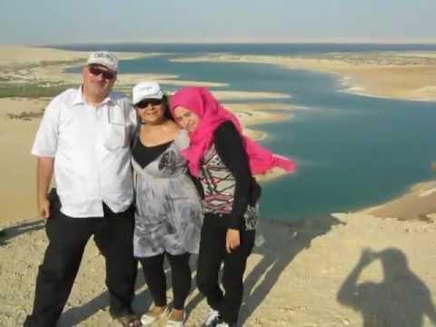 Family Dr. Norman Ali Khalaf at Wadi Al Rayyan, Al fayoum, Egypt. 2012