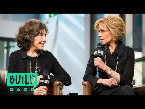 Jane Fonda & Lily Tomlin Swing By To Discuss Their Netflix S