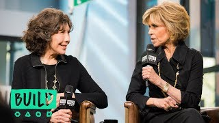 Jane Fonda & Lily Tomlin Swing By To Discuss Their Netflix Series,