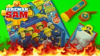 Fireman Sam Comic Issue 125 Review + Firefighter Play Set Openings in English