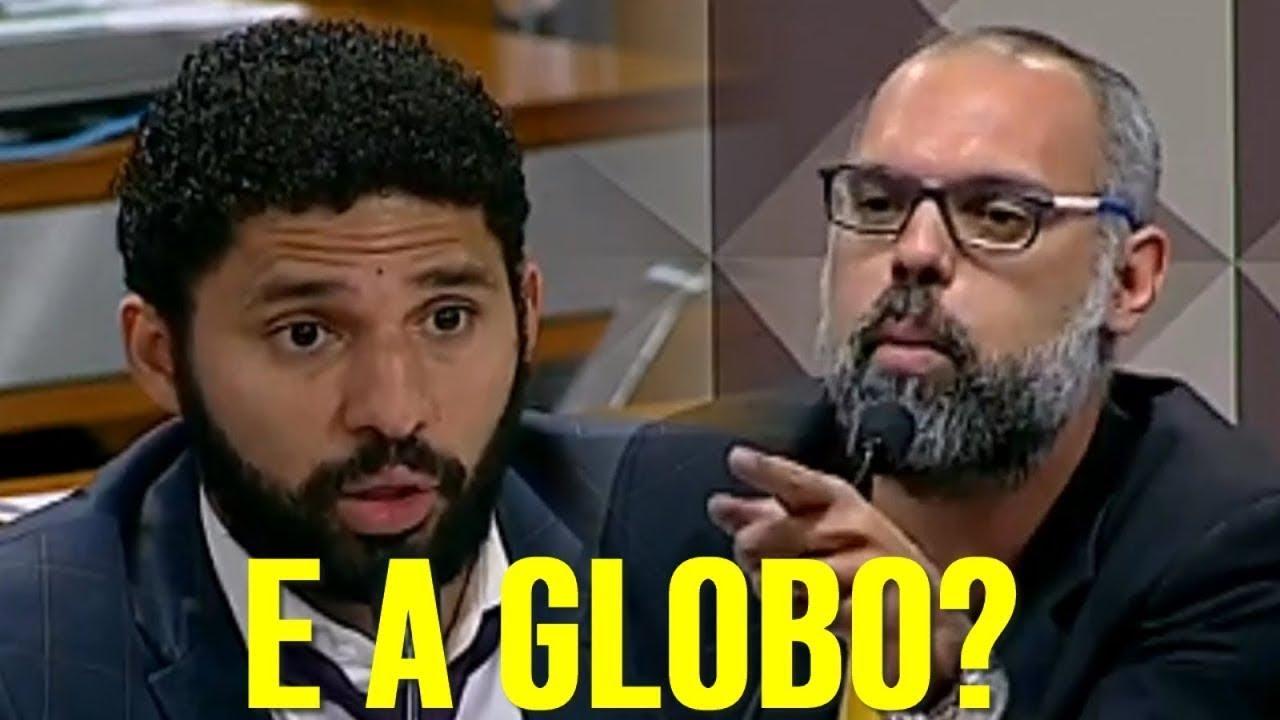 Allan Dos Santos Humilha David Miranda Na Cpmi Das Fake
