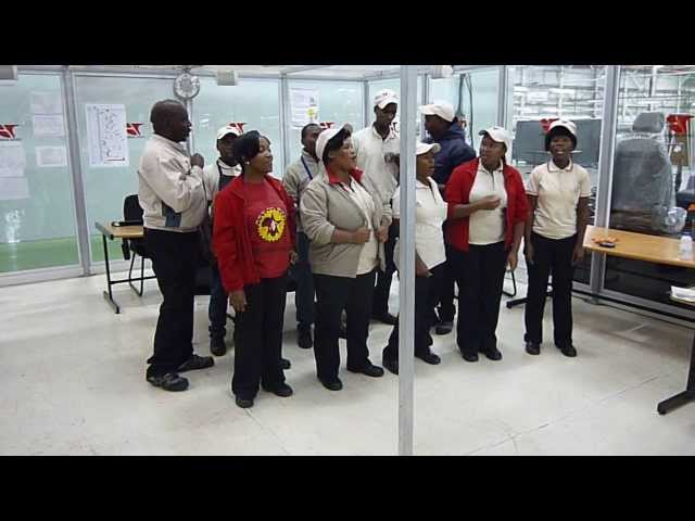 Factory Choir in South Africa   ????? ??????
