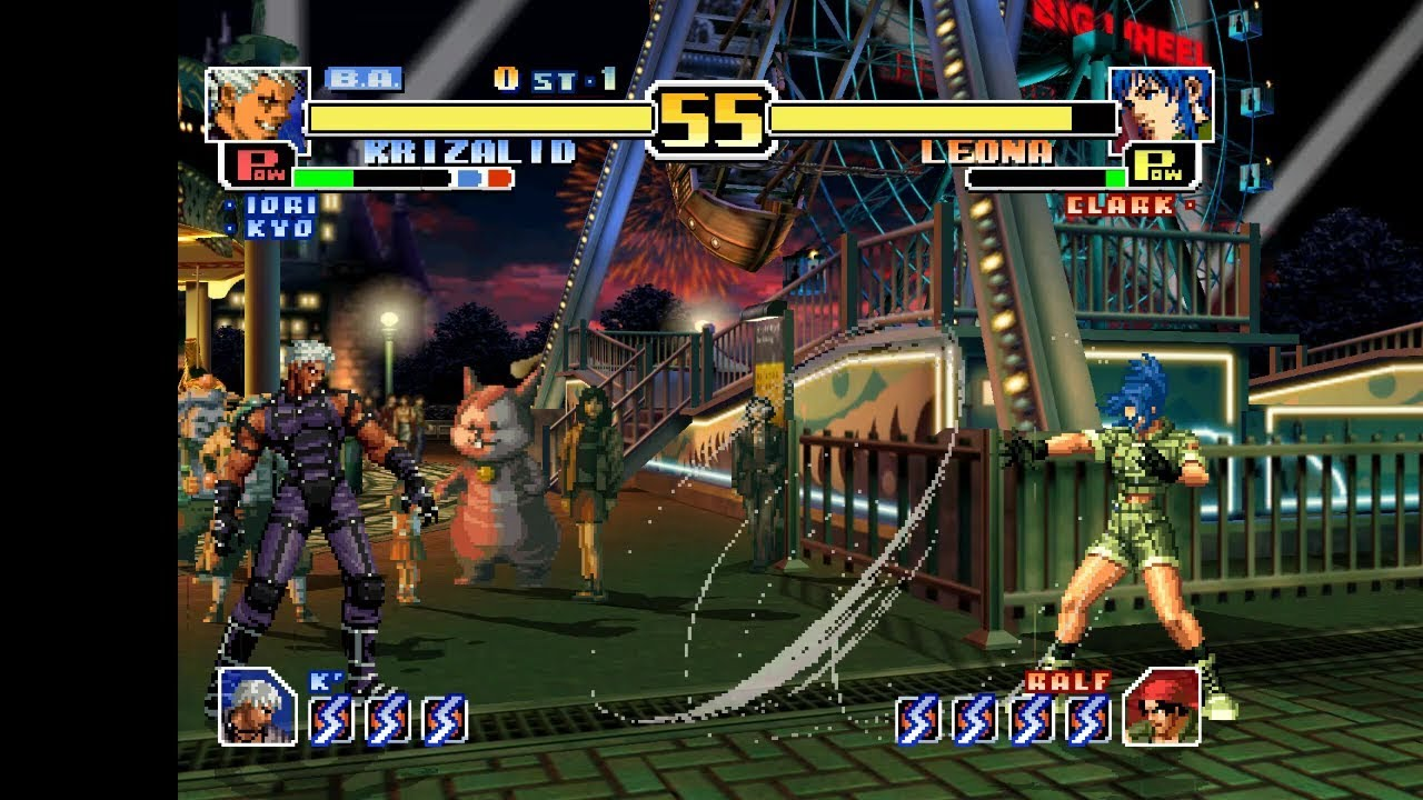 Android DreamCast Emulator ReiCast King of Fighters, The - Evolution Game  Play