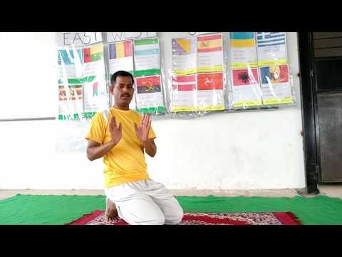 """Yoga for Children Balancing Mayurasana  """"Peacock"""""""