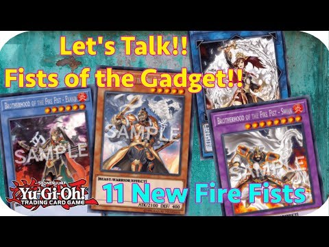 yugioh-discussion:-let's-talk-about-fists-of-the-gadget-+-11-new-fire-fists!!