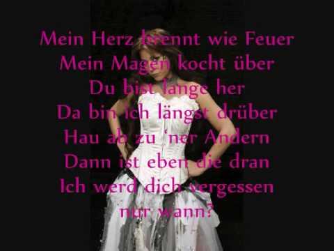 LaFee - Heul Doch (w/lyrics)