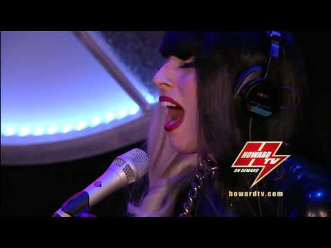 Lady Gaga - Hair Live @ The Howard Stern Show [HowardTV.com] 2011.07.18