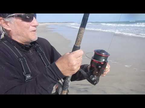Epic Outer Banks Red Drum Fishing In The Surf Different Cameras November 1, 2016