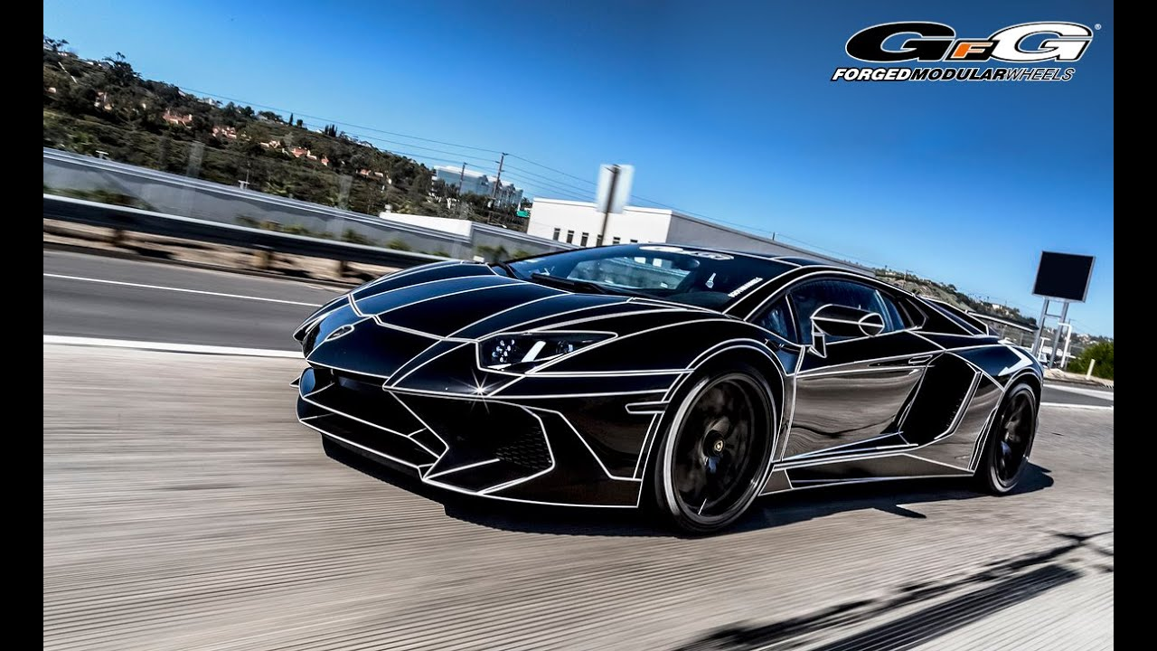 Lamborghini Sv Gfg Forged Wheels Fm877 Youtube