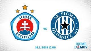 LIVE: ŠK Slovan Bratislava - SK Sigma Olomouc