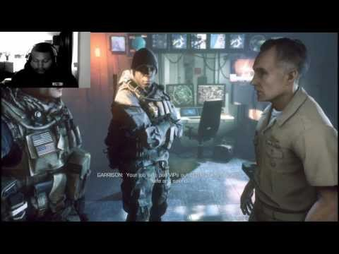Battlefield 4 Play Through Part 1 {Mission 1} Fishing In Baku PC HD Ultra