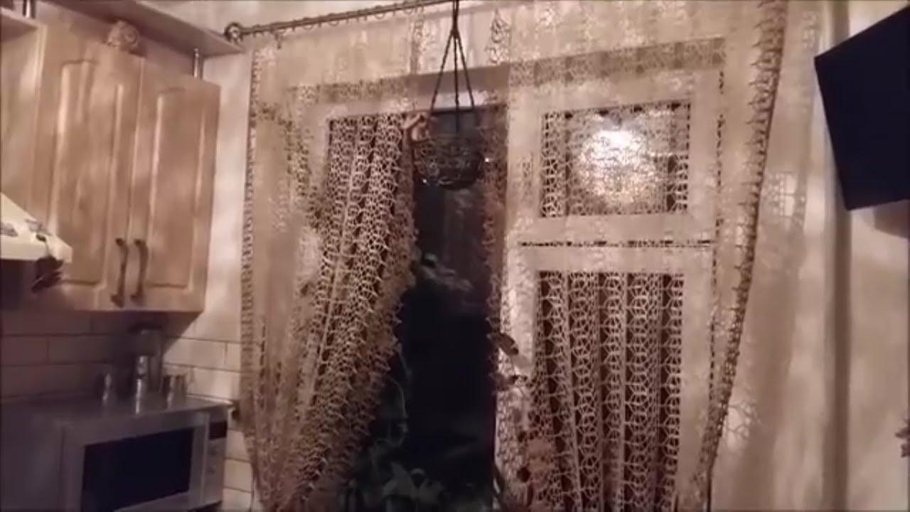 мк узора занавесок для кухни