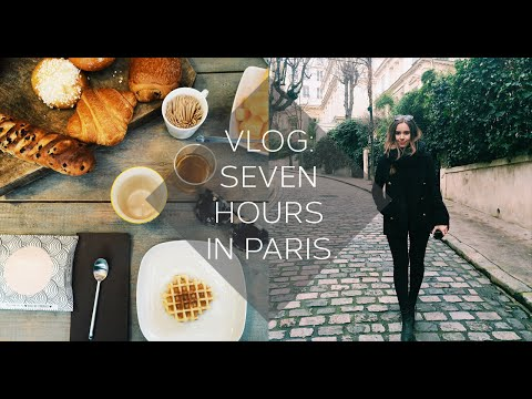 VLOG: Seven Hours In Paris | Hello October