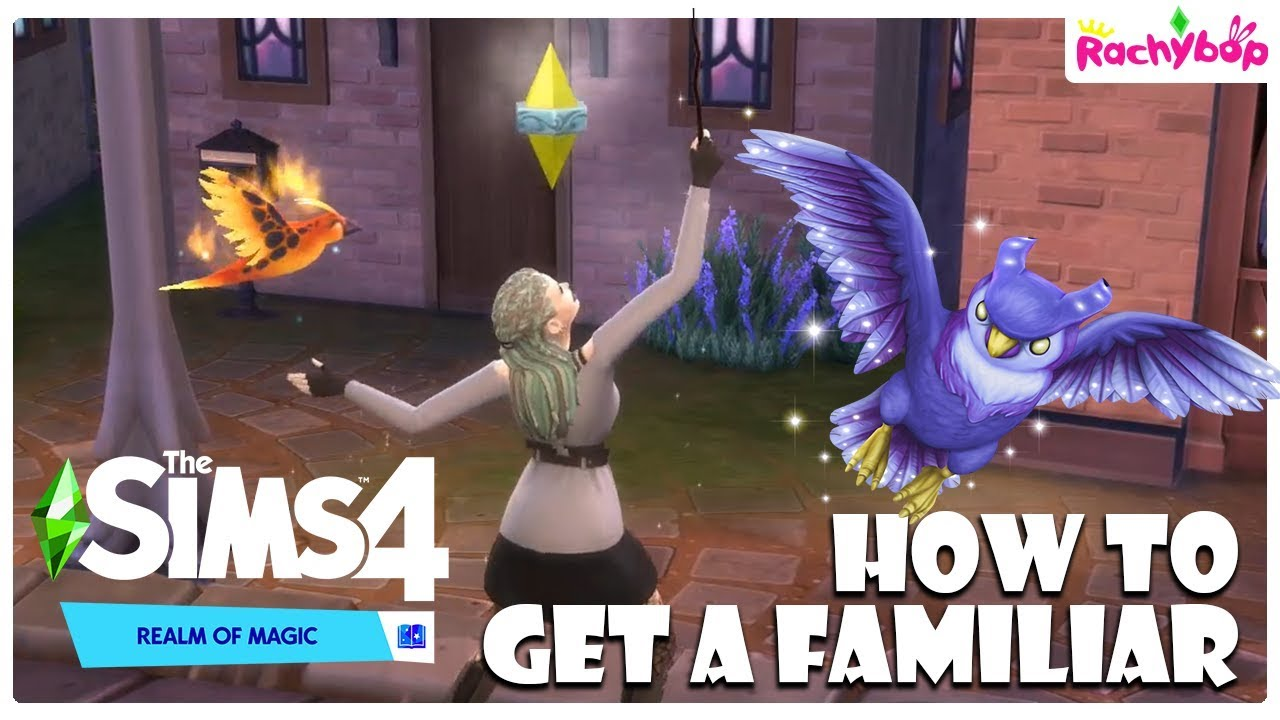 How to get a familiar in The Sims 4 REALM OF MAGIC!