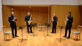 Spain. Saxophone quartet - Chick Corea