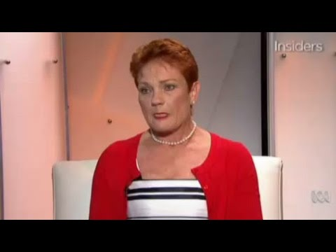 """""""They are getting the wage"""": Pauline Hanson supports penalty rate cuts"""