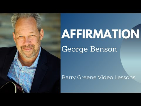 Affirmation  Barry Greene  Lessons