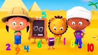 """Развивающий мультик """"Считаем с Полой"""" - цифры для детей. Учимся считать до 6. Ищем новые фрукты"""