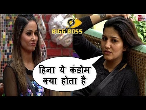 Bigg Boss 11: Sapna choudhary ने हिना से  पूछा कुछ ऐसा की हिना नही दे पाई जवाब !!