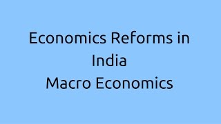 Introduction to Economic Reform