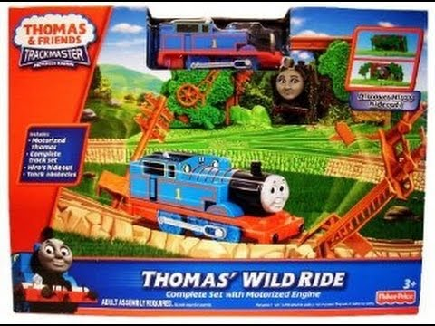"""Thomas """"Wild Ride"""" Tank Engine And Friends Toy - One Of Best Train Tracks Motorised From Amazon... +"""