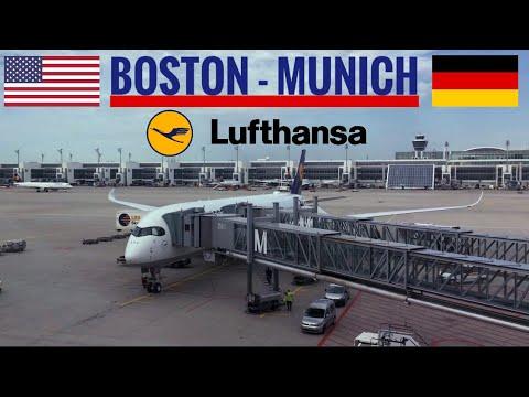 Trip Report: Lufthansa Boston to Munich A350-900