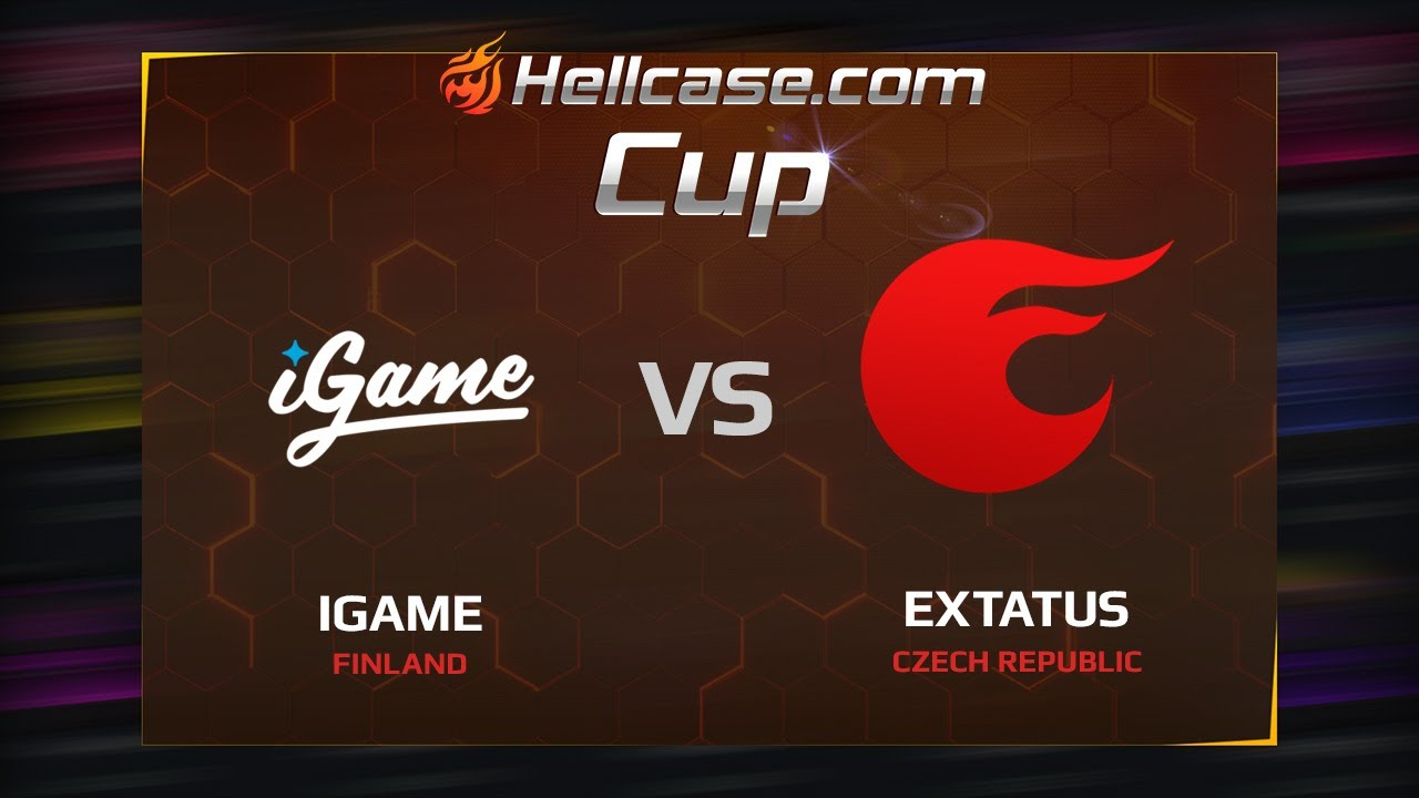 [EN] iGame vs eXtatus, map 2 train, Hellcase Cup Season 5