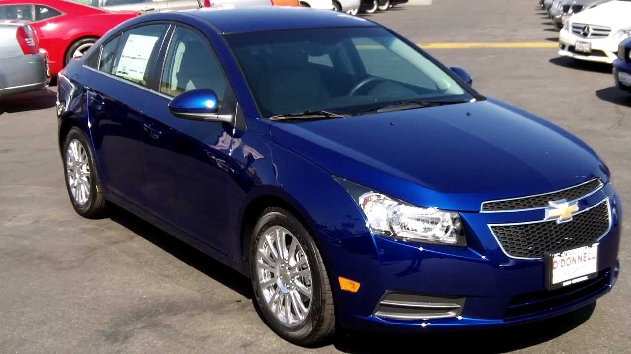 2012 Chevy Cruze Eco Blue Topaz Met O Donnell Chevy Buick San Gabriel Youtube