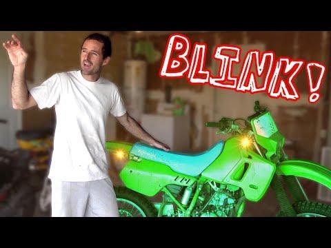 $200 Kawasaki Dirt Bike - Who Cares About Turn Signals