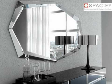 Modern mirrors and creative mirror designs from all over