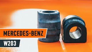 Comment et quand changer Coussinet de palier stabilisateur MERCEDES-BENZ C-CLASS (W203) : vidéo tutoriel