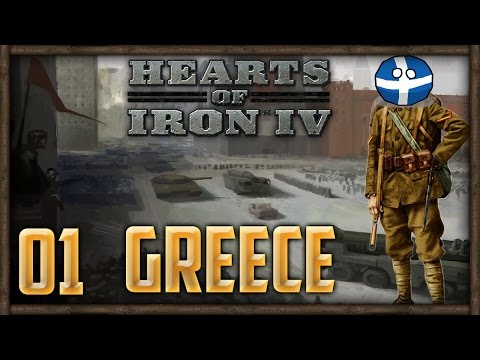 [1] Let's Play Hearts of Iron 4 (Comrade Greece) w/ SurrealBeliefs