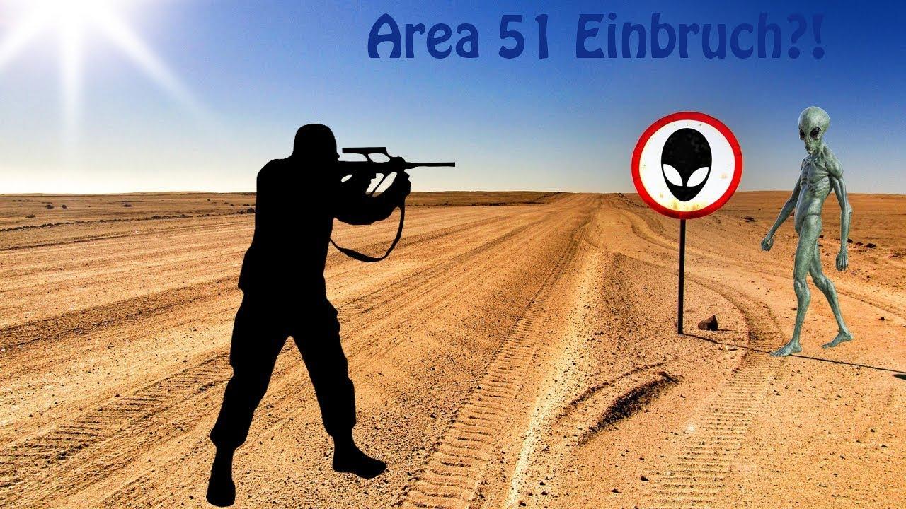 Area 51 Gestürmt