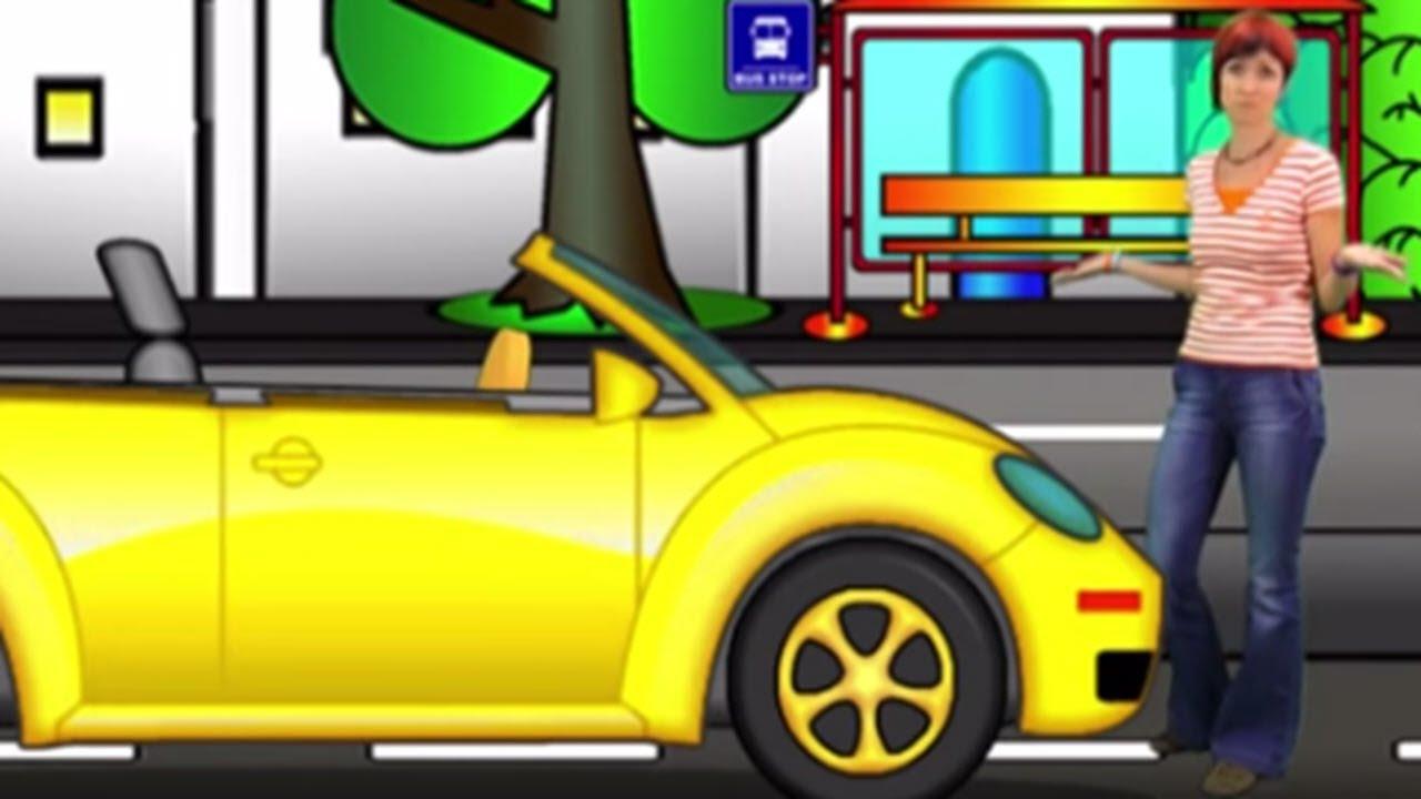 Der abschleppwagen fährt in die werkstatt spielzeugautos