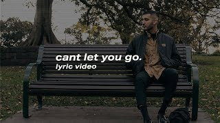 Gambar cover ZUHAIR - Can't Let You Go (Lyric Video)