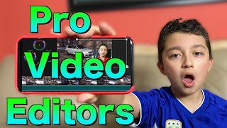 Top 5 Mobile Video Editing Apps ( Android & iOS )
