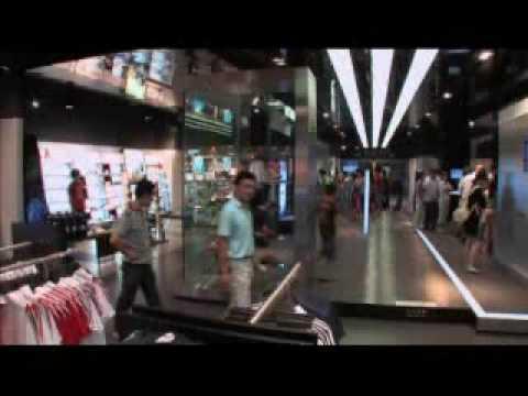 adidas Brand Center Beijing, the world's largest adidas store