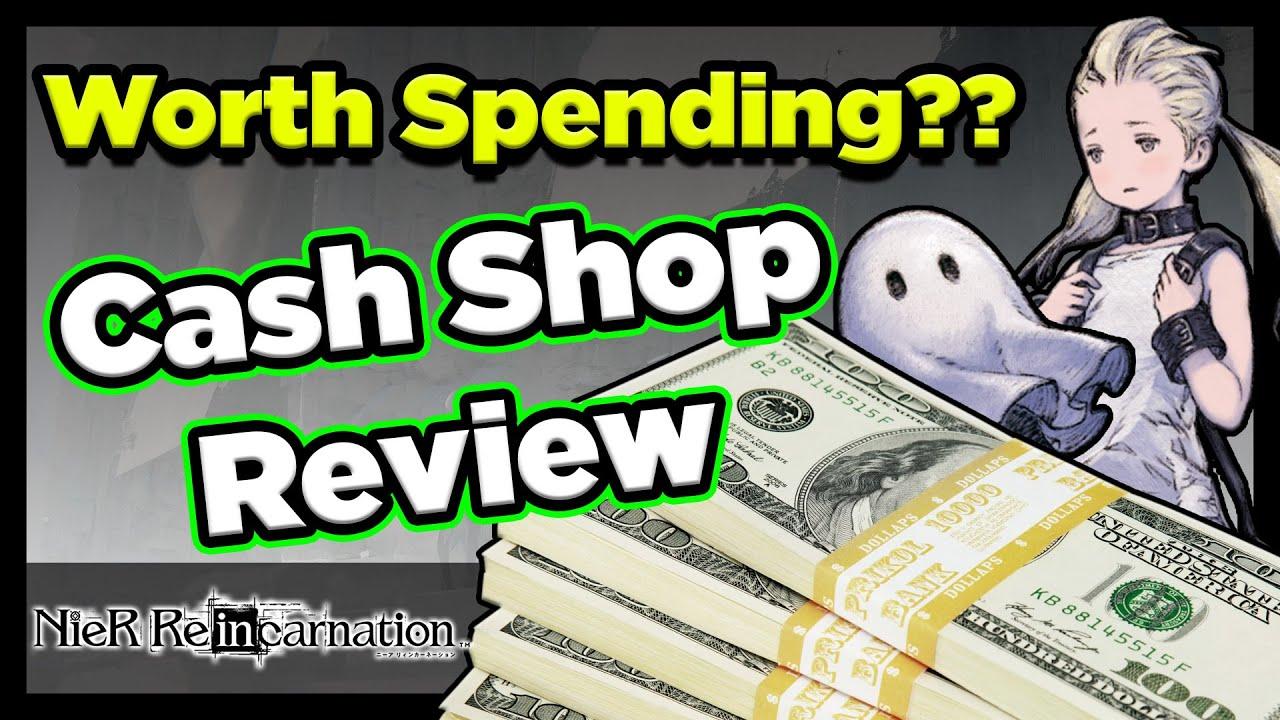 Should You Spend?? Nier Reincarnation Premium Cash Shop Review (Nier Reincarnation)
