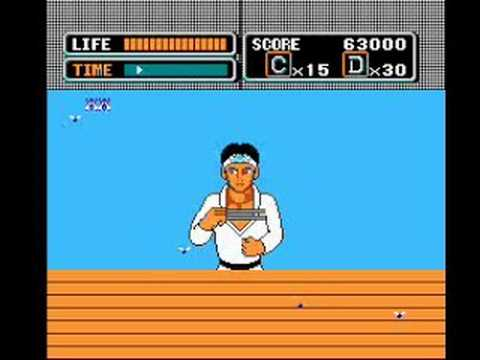 the karate kid nes
