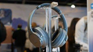Audio-Technica ATH ANC700BT QuietPoint hands-on