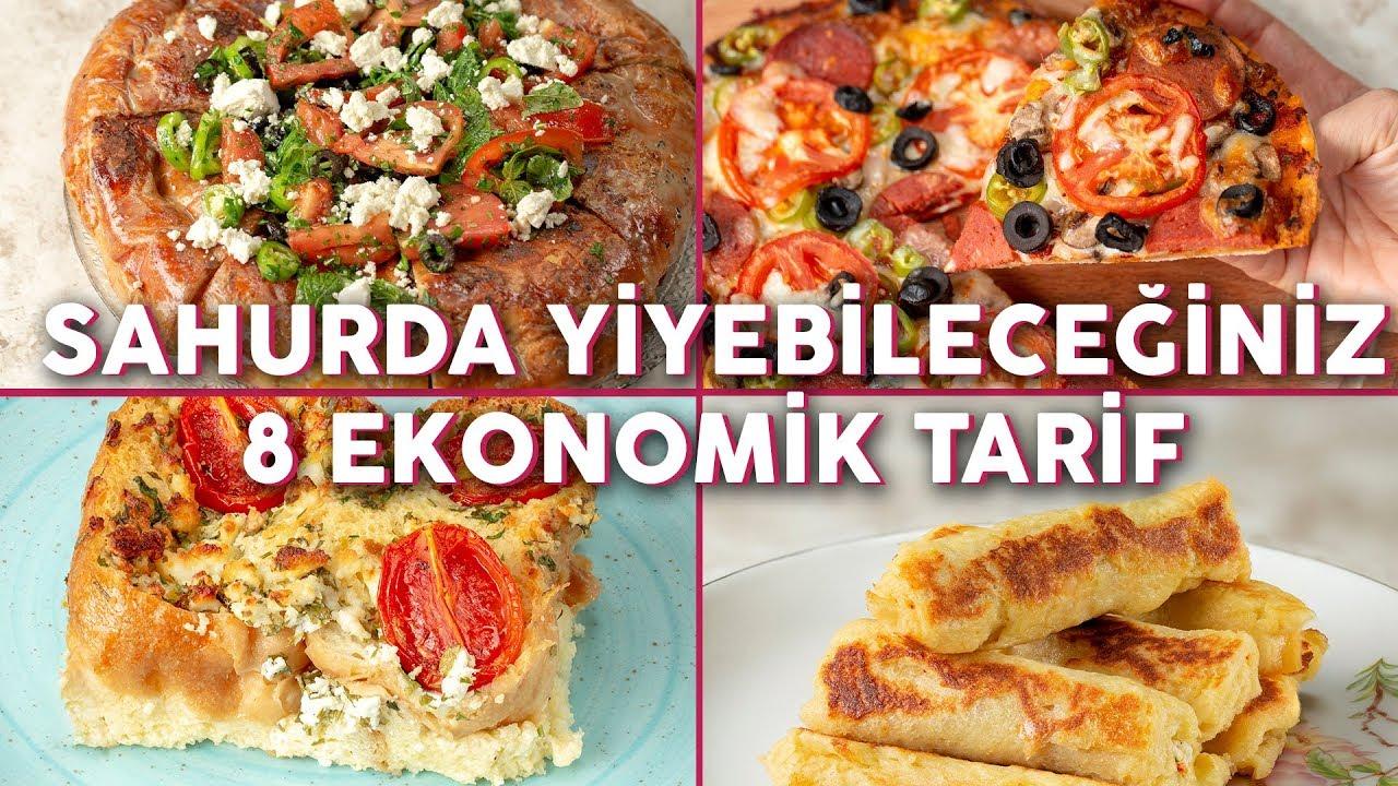 Yemek Tarifi: Sahurda Afiyetle Yiyebileceğiniz Oldukça Ekonomik 8 Tarif