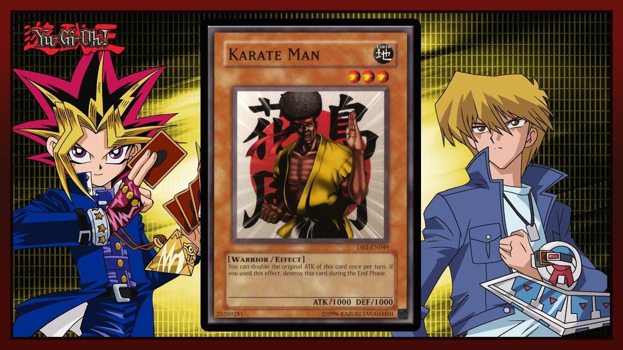 yugioh  duel links  deck  karate man one turn kill