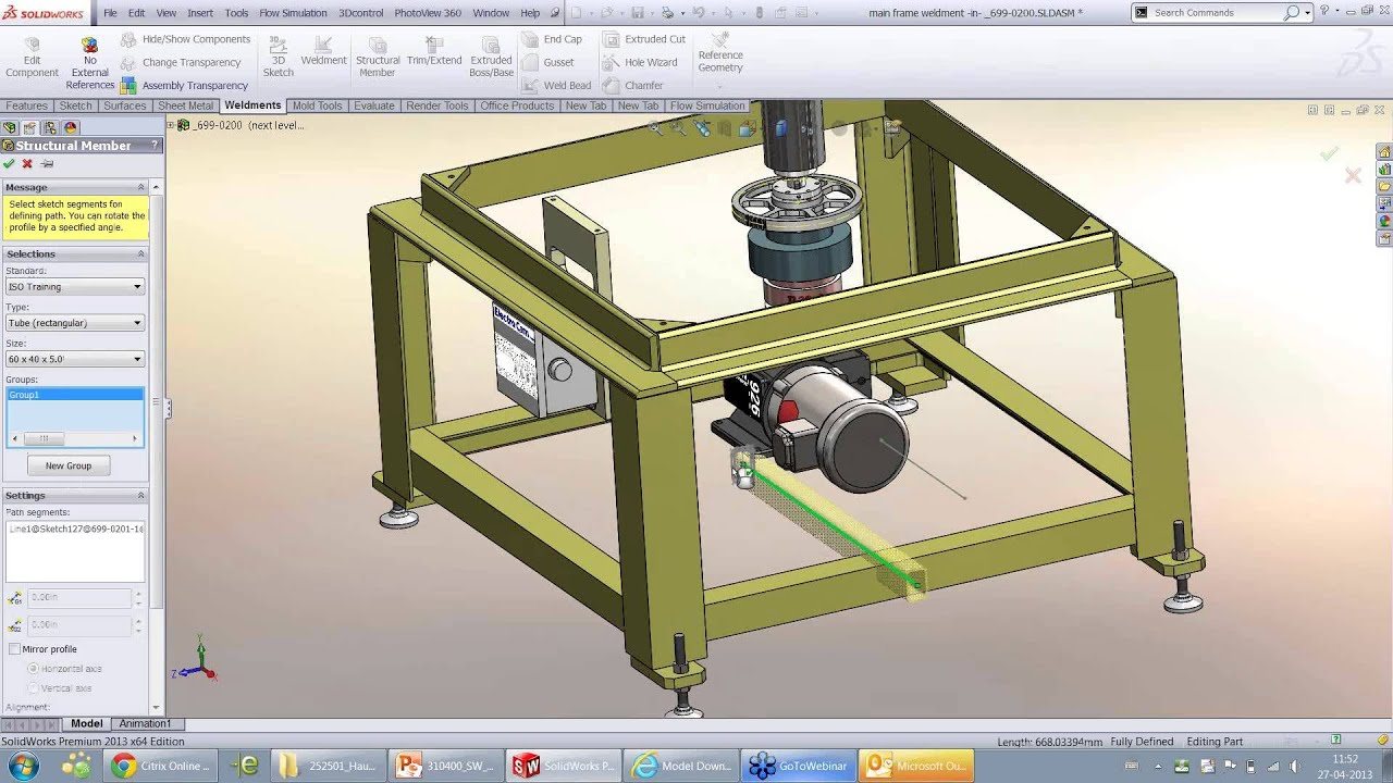 how to make a drawing from a part in solidworks