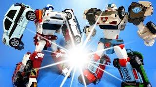 또봇 장난감 델타트론 쿼트란 자동차 장난감 변신  (Tobot Deltatron & Quadrant) Car Toys