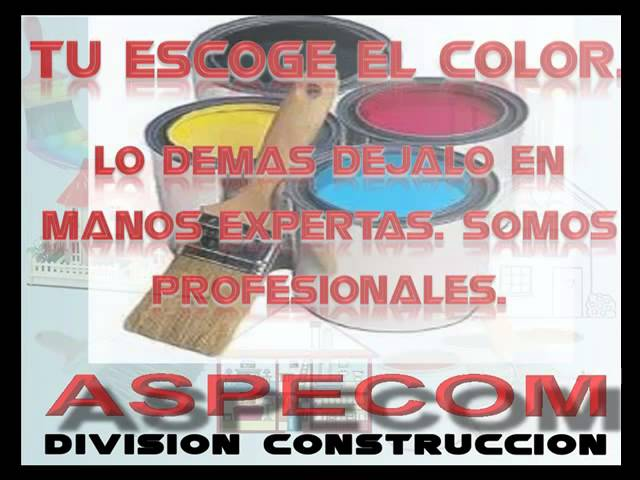 ASPECOM CONSTRUCCION 01 Videos De Viajes